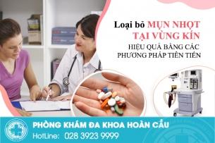 Nổi mụn nhọt ở vùng kín nữ có cần gặp chuyên gia điều trị không?
